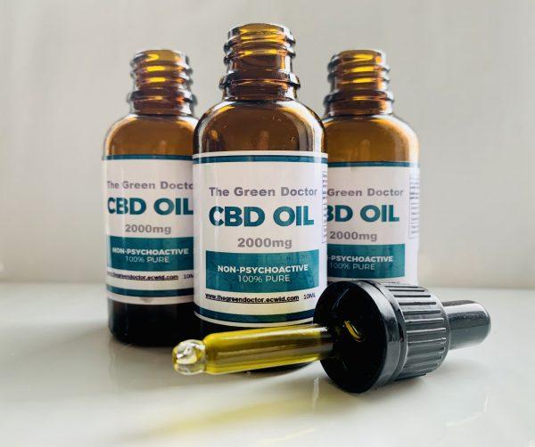 2000mg CBD Oil Bundle Buy 3 get 1 Free